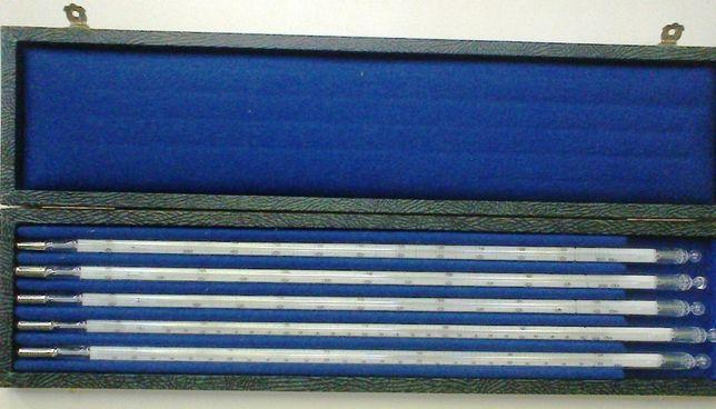 Комплект термометров ртутных образцовых TGL-11998