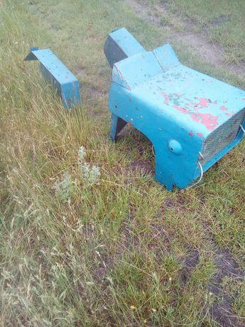 Maska i błotniki do traktorka sam