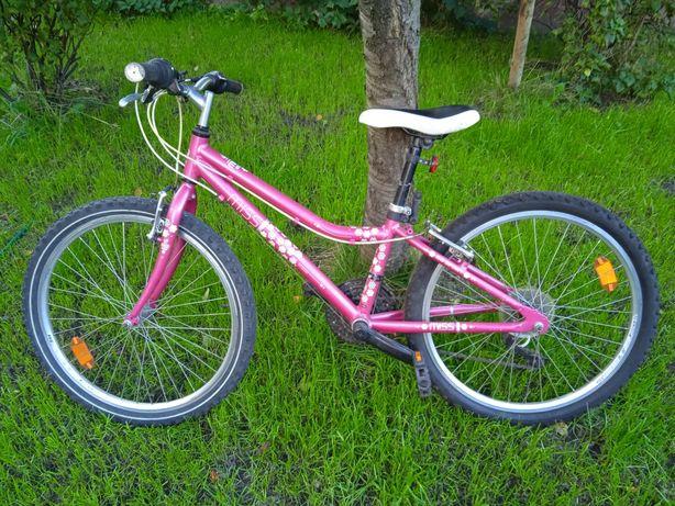 Rower damski różowy