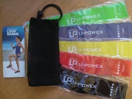 Резинки для фитнеса и тренировок U-Powex, оригинал