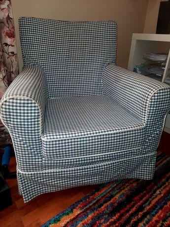 Fotel Ikea krateczka