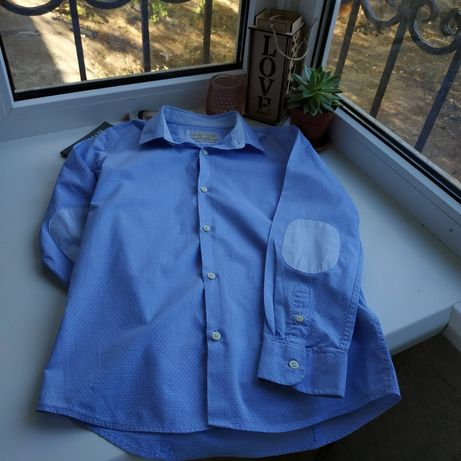 Рубашка Zara, 9-10 лет, в отличном состоянии