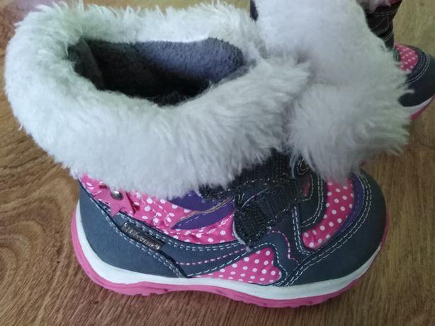 Zimowe buty dziewczece