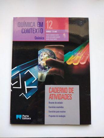 """Caderno de atividades de Química do 12º ano """"Química em Contexto"""""""