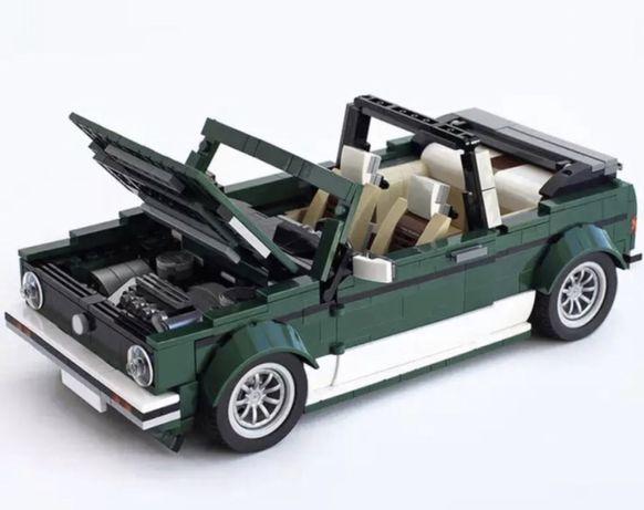 MOC Vw Golf MK1 Cabriolet. (Modelo alternativo Lego Creator Mini 10242