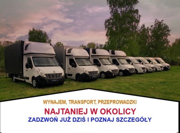 Przeprowadzki/transport/wypożyczalnia/bus/busów/tragarze/plandeka
