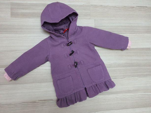 Модное пальто для девочки