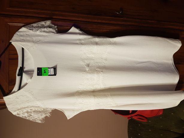 nowa sukienka 50 XXXL Biała