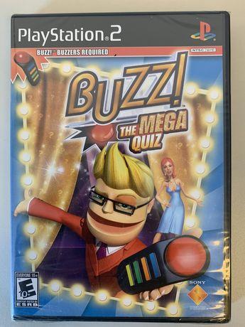 Jogo BUZZ! The Mega QUIZ - PS 2 NOVO