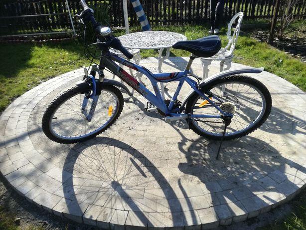 Sprzedam rower widoczny na zdjęciach  koła 24