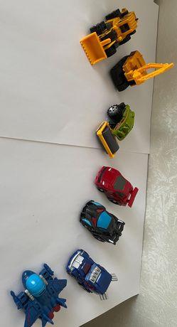 Машинки - роботы