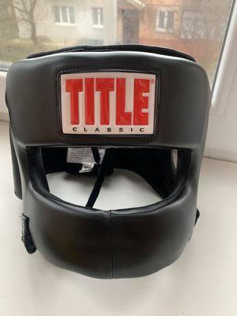 Боксерский шлем с бампером Title Classic
