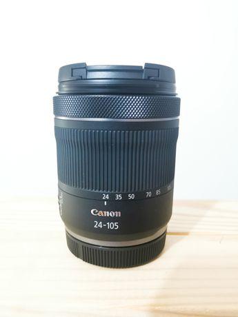 Lente Canon RF 24-105 mm f4/7.1 is stm