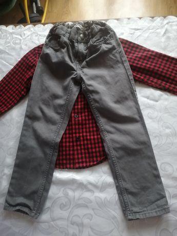 Spodnie dla chłopca h&M hm 110