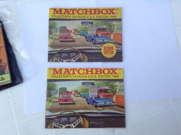 CATÁLOGO MATCHBOX Lesney 1969 -carros - Superfast original - cada 20€