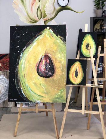 """Картина маслом большая  """"Avocado"""""""