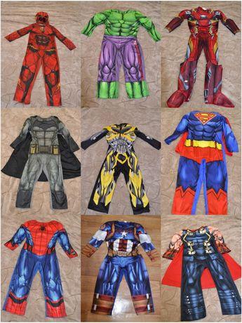 Продам карнавальные костюм супергероя на праздник новый год (MARVEL)