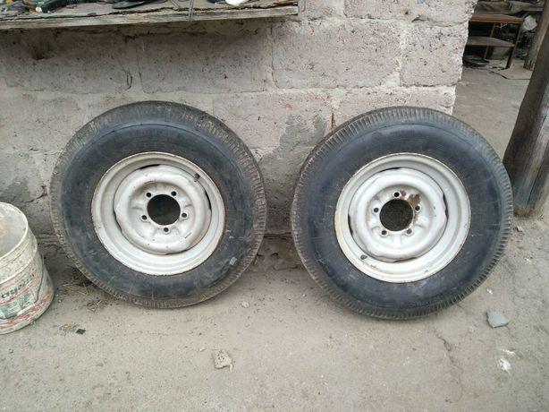 Комплект колес Газ21 в полном составе