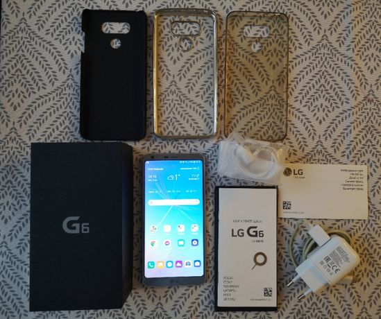 LG G6 H870 Platinum 4GB RAM, Snapdragon 821 jak NOWY !! Zero rysek