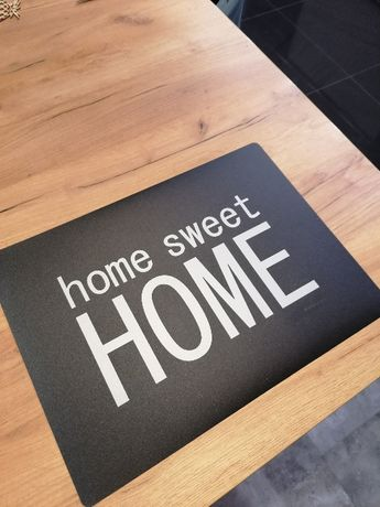 Mata na stół z tworzywa Home Sweet Home Dwustronna