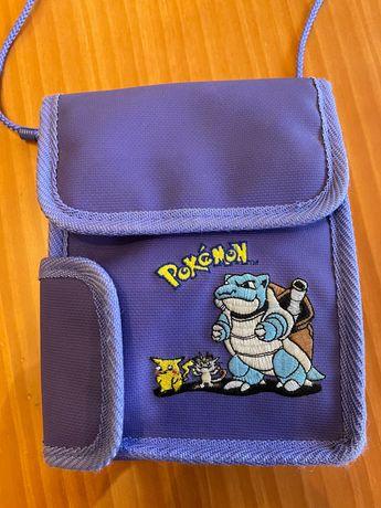 Bolsa Nitendo/Pokemon para guardar jogos GameBoy e consola