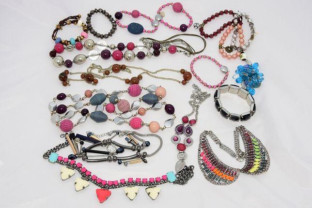 Biżuteria, bransoletki, naszyjniki, korale