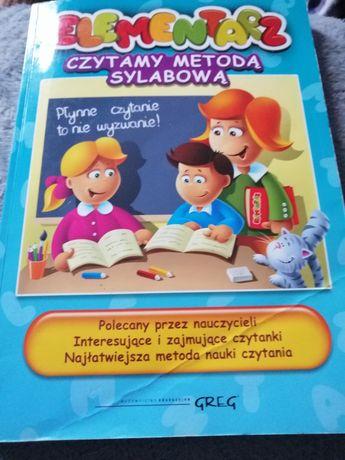 Książka dla dzieci elementarz
