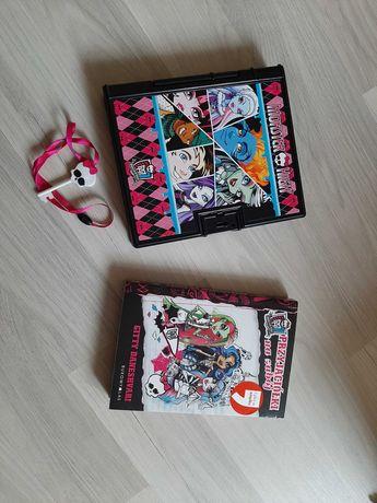 Pamiętnik Monster High i książka
