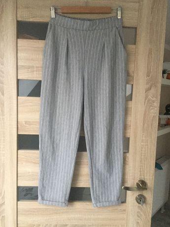 Spodnie w paski eleganckie stradivarius 40