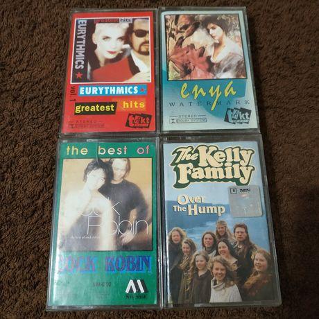 Kaseta Audio Muzyka Lat 80 90-tych