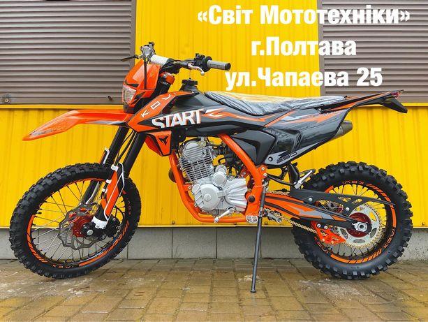 Новый кроссовый мотоцикл KOVI 250 Start модель 2021-года ktm honda