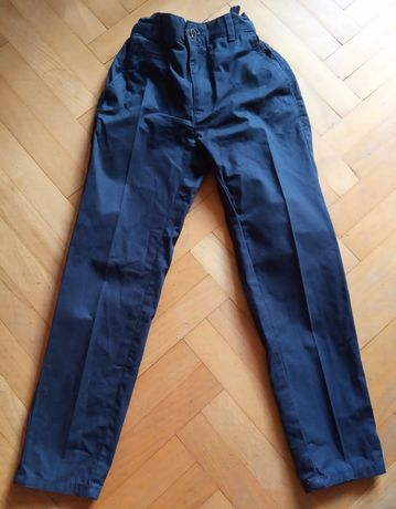 Spodnie wizytowe, eleganckie chłopięce RESERVED, rozm.134