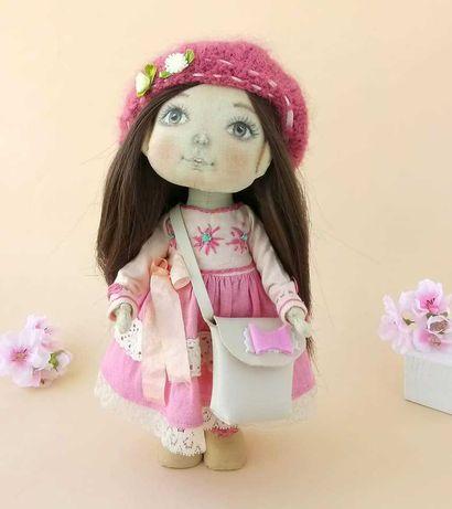 Кукла текстильная ручной работы. Лялька ручної роботи.