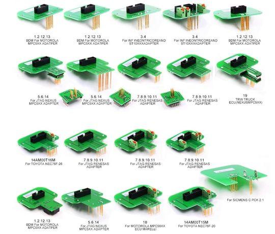 KIT de 22 adaptadores BDM para KTAG/KTM