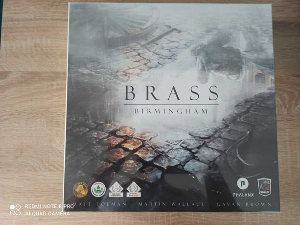 Brass Birmingham, nowa zafoliowana !!!