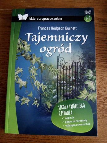 Tajemniczy ogród. Lektóra. Nowa książka.