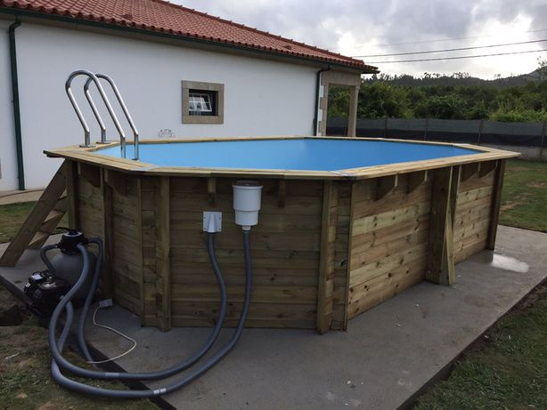 Madeira piscinas