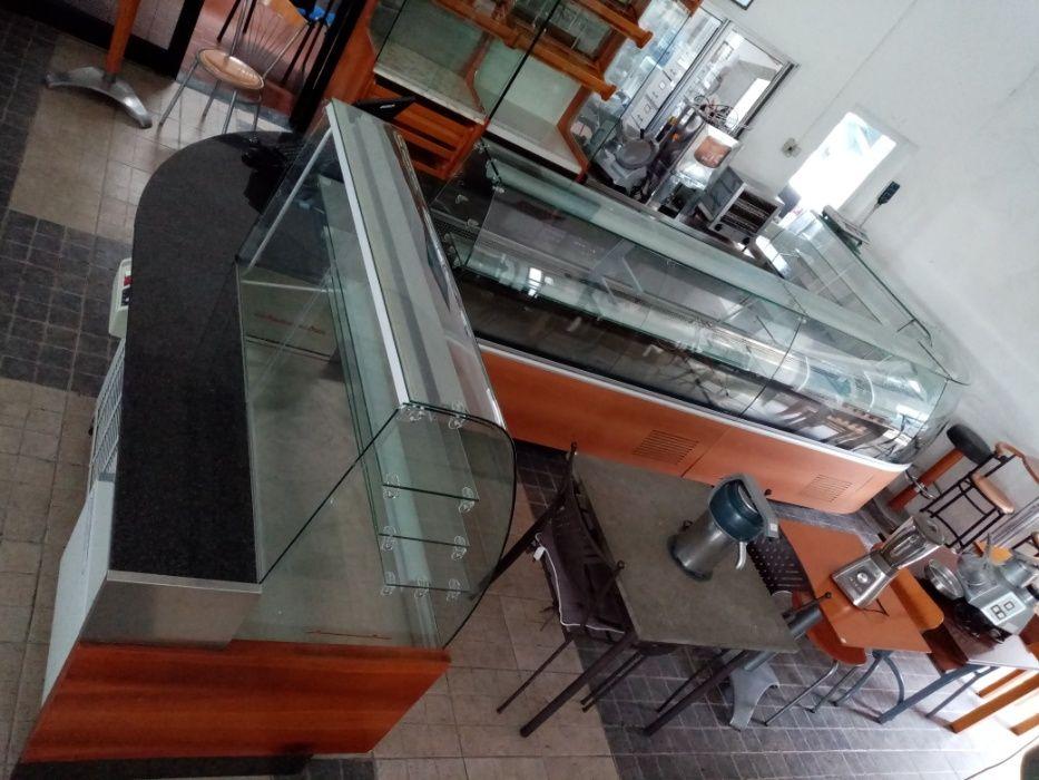Vitrine Refrigerada - Móvel de Pão para Padaria Pastelaria ACM32