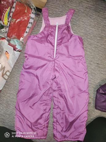 Комбінезон штани зимові на флісі 98-104