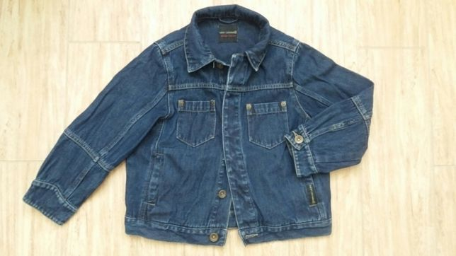 Детский джинсовый пиджак, куртка Next на 5-6 лет