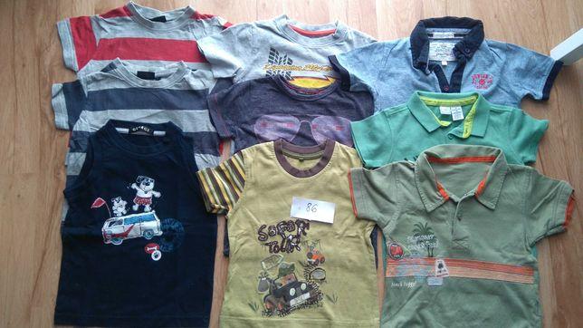 T-shirt, koszulki r.86