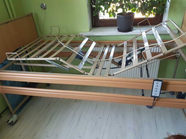 Łóżko rehabilitacyjne,wózek, balkonik
