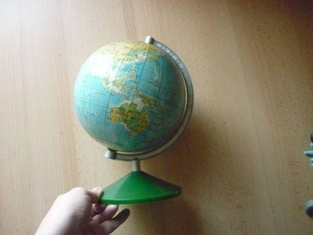 Globus obrotowy kula ziemska PRL PPWK