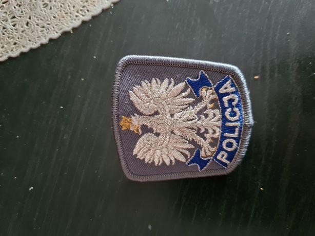 Orzełek czapka gabardynowa Policja