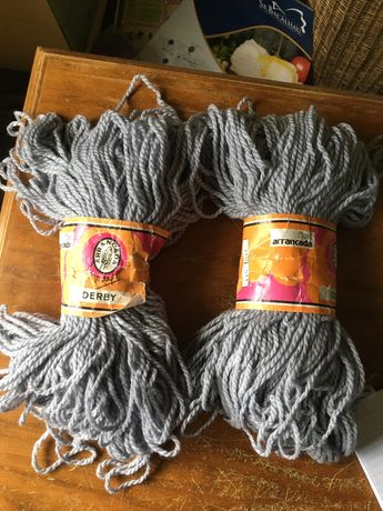 "Meadas lilás ""Derby"" da Arrancada, 100 gramas, 50% lã"