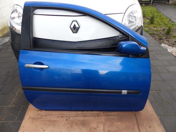 drzwi Renault Clio III 3 prawe przód kompletne