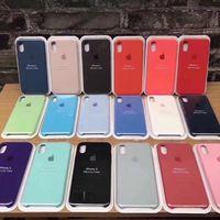 Capa de Silicone Original iPhone 5S/6/6S/7/8/X/XS/11/12 Pro MAX Plus