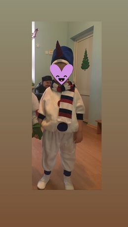 Продам костюм снеговика