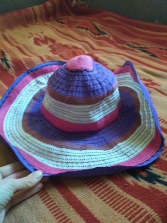 шляпа пляжная летняя Эль корт инглес