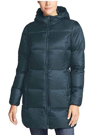 Куртка женская, пуховик Eddie Bauer, размер S